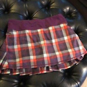 Lululemon tennis / golf skirt